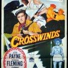 Crosswinds (1951) - John Payne  DVD