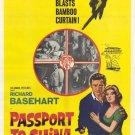 Passport To China (1960) - Richard Basehart  DVD