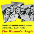 The Woman´s Angle (1952) - Edward Underdown  DVD