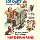 How To Frame A Figg (1971) - Don Knotts  DVD