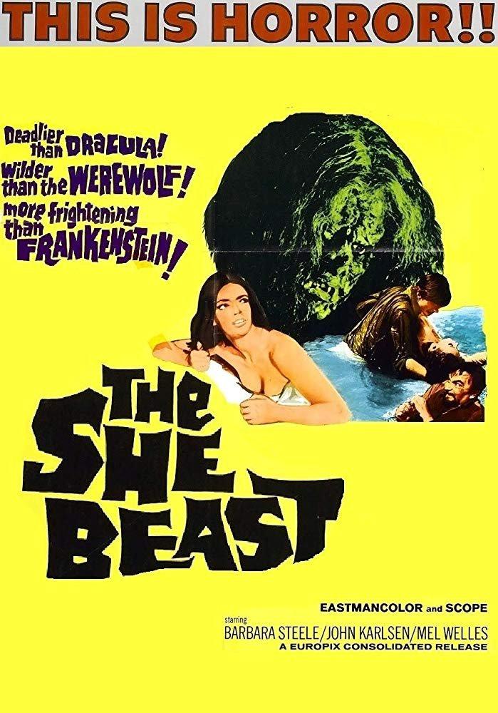 The She Beast (1966) - Barbara Steele  DVD