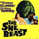 The She Beast (1966) - Barbara Steele  DVD