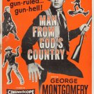 Man From God´s Country (1958) - George Montgomery  DVD