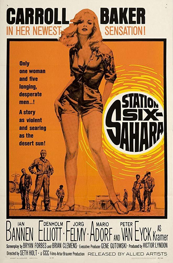 Station Six-Sahara (1963) - Carroll Baker  DVD
