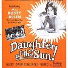 Daughter Of The Sun (1962) - Herschell Gordon Lewis  DVD