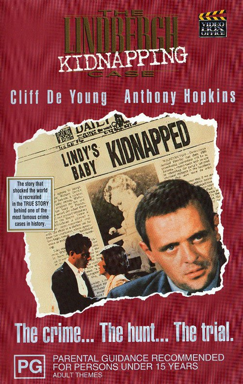 The Lindbergh Kidnapping Case (1976) - Anthony Hopkins  DVD