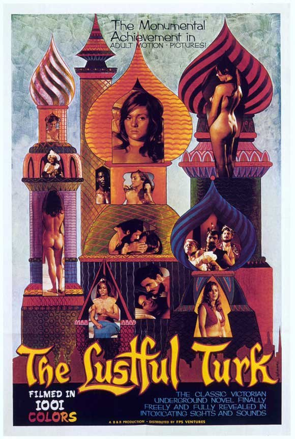 The Lustful Turk (1968) - Linda Stiles  DVD