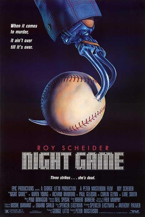Night Game (1989) - Roy Scheider  DVD