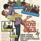 When The Boys Meet The Girls (1965) - Connie Francis  DVD