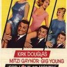 For Love Or Money (1963) - Kirk Douglas  DVD