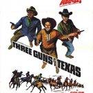 Three Guns For Texas (1968) - Neville Brand  DVD