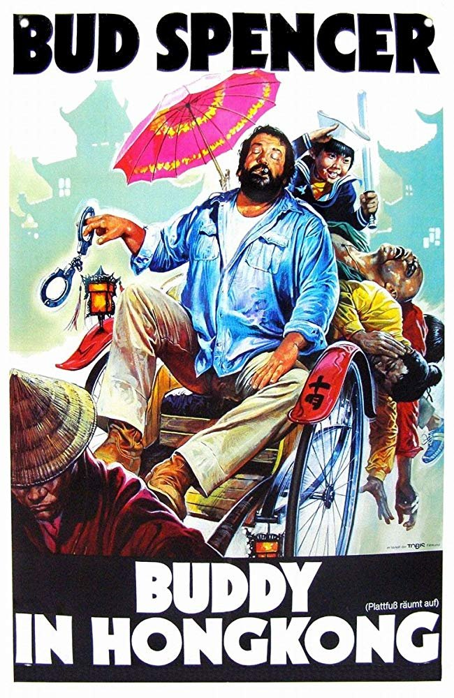 Flatfoot In Hong Kong (1975) - Bud Spencer  DVD