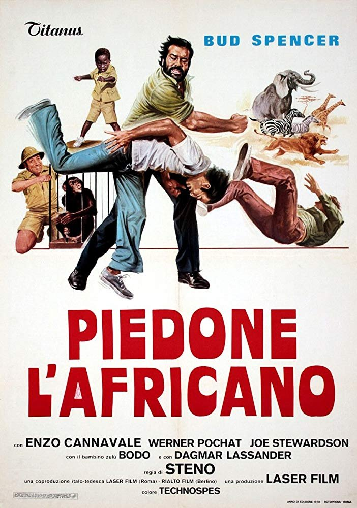 Flatfoot In Africa (1978) - Bud Spencer  DVD