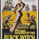 Guns Of The Black Witch (1961) - Don Megowan  DVD