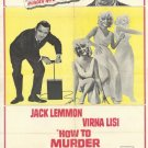 How To Murder Your Wife (1965) - Jack Lemmon  DVD