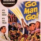 Go Man Go (1954) - Dane Clark  DVD