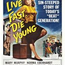 Live Fast, Die Young (1958) - Mike Connors  DVD