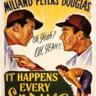 It Happens Every Spring (1949) - Ray Milland  DVD