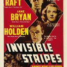Invisible Stripes (1939) - George Raft  DVD