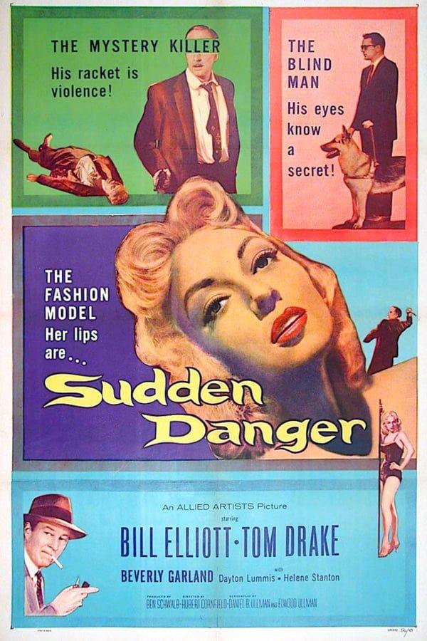 Sudden Danger (1955) - Bill Elliott  DVD