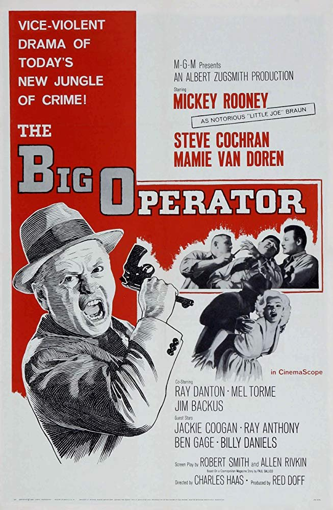 The Big Operator (1959) - Mickey Rooney  DVD