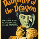 Daughter Of The Dragon (1931) - Warner Oland  DVD