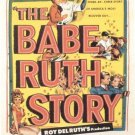 The Babe Ruth Story (1948) - William Bendix  DVD