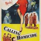 Calling Homicide (1956) - Bill Elliott  DVD
