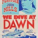 We Dive At Dawn (1943) - John Mills  DVD