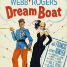 Dreamboat (1952) - Jeffrey Hunter  DVD
