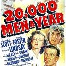 20,000 Men A Year (1939) - Randolph Scott  DVD
