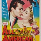 All American (1953) - Tony Curtis  DVD