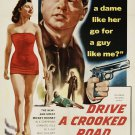 Drive A Crooked Road (1954) - Mickey Rooney  DVD