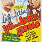 Lum And Abner Abroad (1956) - Chester Lauck  DVD