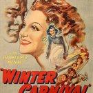 Winter Carnival (1939) - Ann Sheridan  DVD
