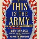 This Is The Army (1943) - Ronald Reagan  DVD
