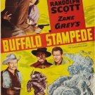 The Thundering Herd AKA Buffalo Stampede (1933) - Randolph Scott  DVD