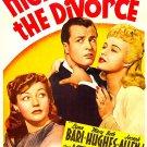 The Night Before The Divorce (1942) - Lynn Bari  DVD