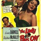 The Lady Pays Off (1951) - Linda Darnell  DVD