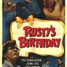 Rusty : Rusty´s Birthday (1949) - Ted Donaldson  DVD