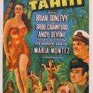 South Of Tahiti (1941) - Brian Donlevy  DVD