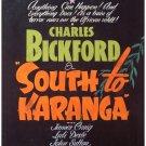 South To Karanga (1940) - Charles Bickford  DVD