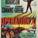 Operation X (1950) - Edward G. Robinson  DVD