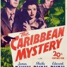 The Caribbean Mystery (1945) - James Dunn  DVD