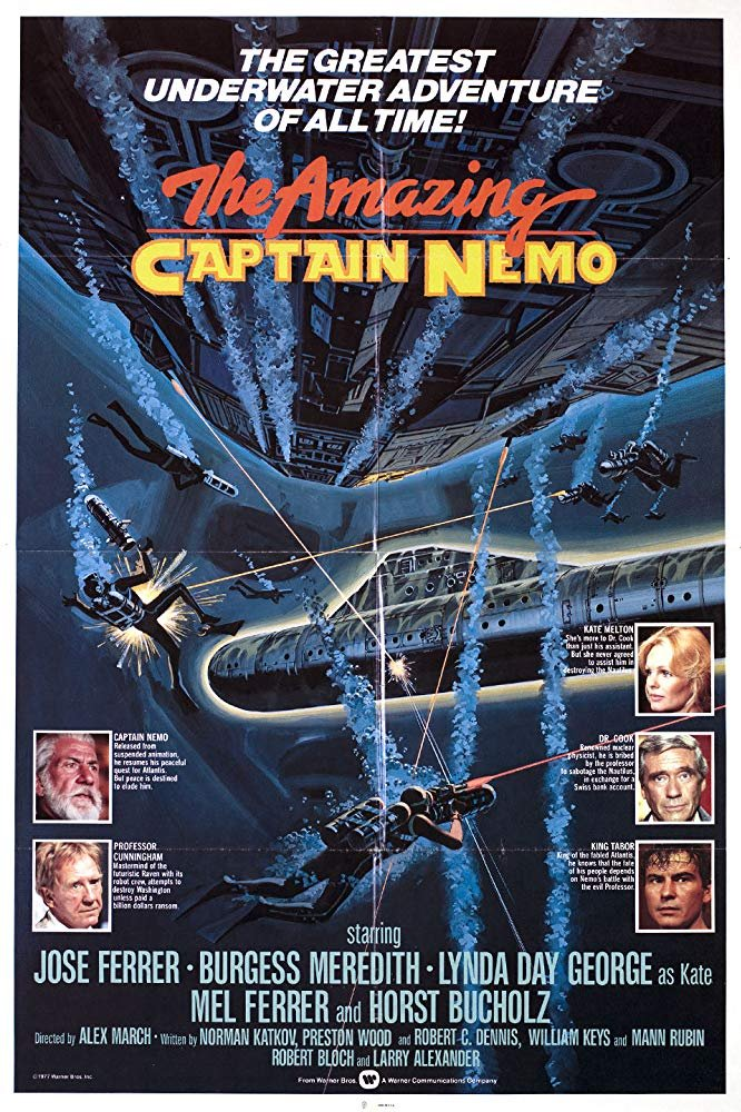 The Amazing Captain Nemo (1978) - Jose Ferrer  DVD