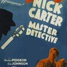 Nick Carter, Master Detective (1939) - Walter Pidgeon  DVD