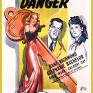 Passkey To Danger (1946) - Kane Richmond  DVD
