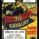 7th Cavalry (1956) - Randolph Scott  DVD