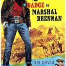 The Badge Of Marshall Brennan (1957) - Jim Davis  DVD
