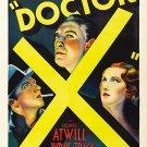 Doctor X (1932)  - Michael Curtiz  Color Version DVD